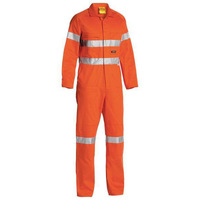 Bisley Taped Hi Vis Drill Coverall