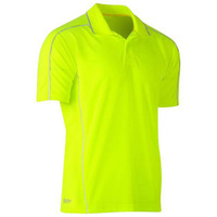 Bisley Cool Mesh Polo with Reflective Piping
