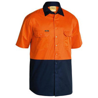 Bisley Hi Vis Cool Lightweight Drill Shirt