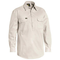 Bisley Closed Front Cool Lightweight Drill Shirt