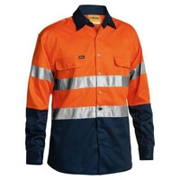 Bisley Taped Hi Vis Drill Shirt