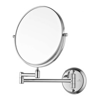 Dolphy 5X Magnifying Shaving and Makeup Mirror 8 Inch