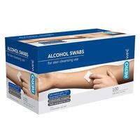 Alcohol Wipe Sachet 100x Pack