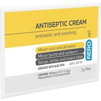 Antiseptic Cream 1g Sachet 10x Pack