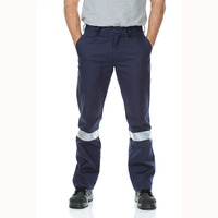 WORKIT Cotton Drill Regular Weight Taped Work Pants