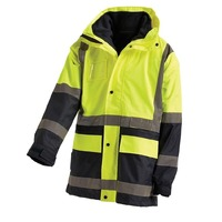 WORKIT Hi-Vis 2 Tone 5 in 1 Waterproof Biomotion Taped Jacket