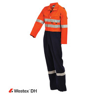 WORKIT PPE2 WESTEX DH FR Inherent 220gsm Vented Taped Coverall