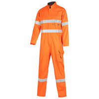 WORKIT FLARX PPE1 FR Inherent 190gsm Vented Taped Coverall
