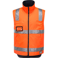 Huski Reversible Polar Fleece Traffic Vest