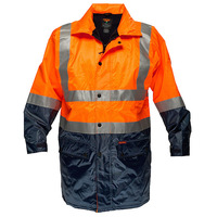 Prime Mover Fleece Lined Rain Jacket with Tape