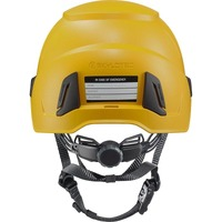 Inceptor Grx High Voltage Helmet Electrically Insulated Yellow