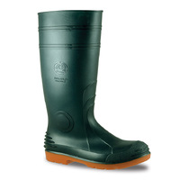 Bata Industrials Jobmaster 3 400 Gumboots Green/Orange