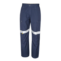 TRU Workwear Ladies Mid Weight Cotton Cargo Trousers with 3M Tape
